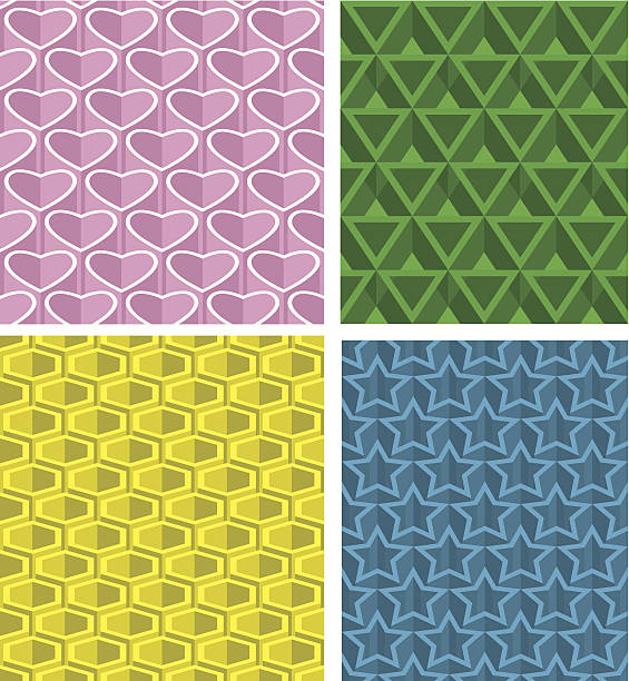 Pattern seamless background vector art illustration