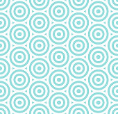 Pattern seamless circle abstract bubble background stripe green and white colors geometric vector.