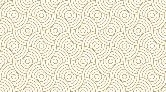 Pattern Seamless Circle Abstract Wave Background Stripe Gold Luxury Color And Line Geometric Line Vector — стоковая векторная графика и другие изображения на тему Абстрактный