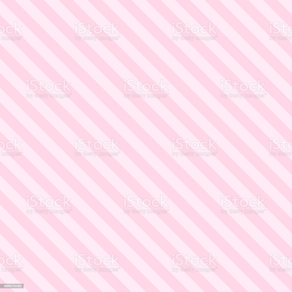 Pattern Seamless Stripe Diagonal Pink Tow Tone Colors Valentine