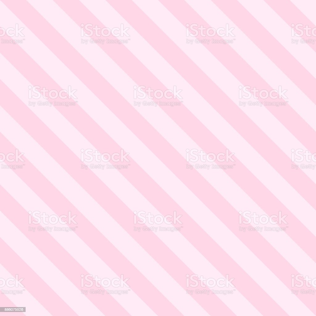 Pattern Seamless Stripe Diagonal Pink Tow Tone Colors Valentine Background Vector Royalty Free
