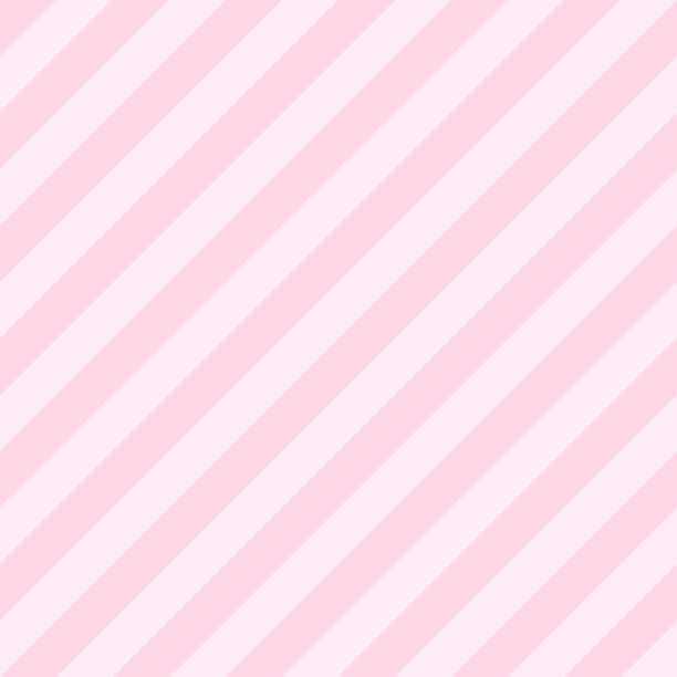 Pattern seamless stripe diagonal pink tow tone colors. Valentine background vector. Pattern seamless stripe diagonal pink tow tone colors. Valentine background vector. candy patterns stock illustrations