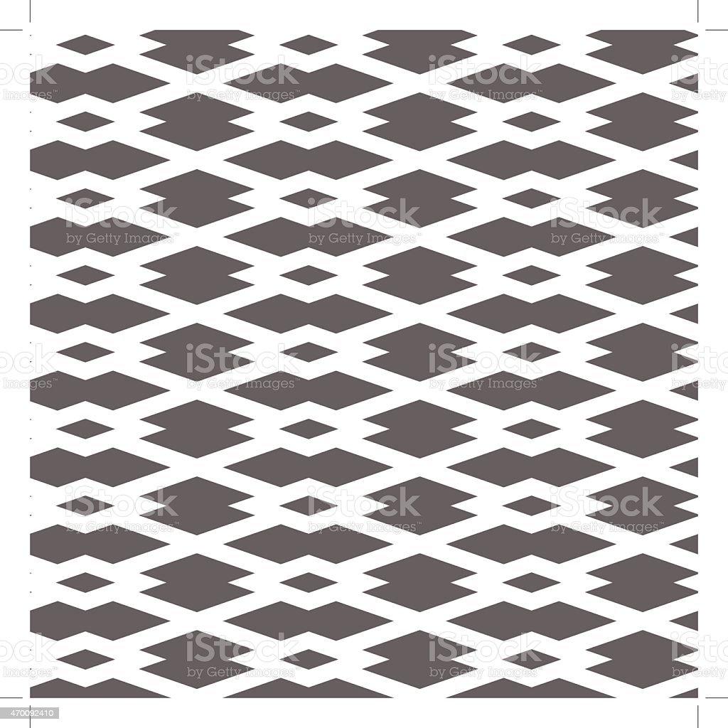 Pattern Square vector art illustration