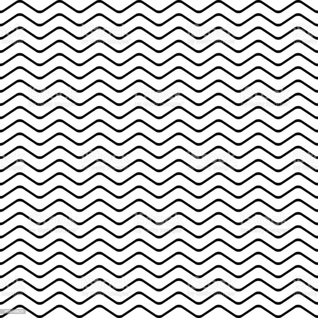 pattern stripe seamless black and white colors wave