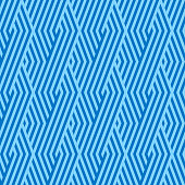 Pattern stripe seamless blue two tone colors. Chevron pattern stripe abstract background vector.