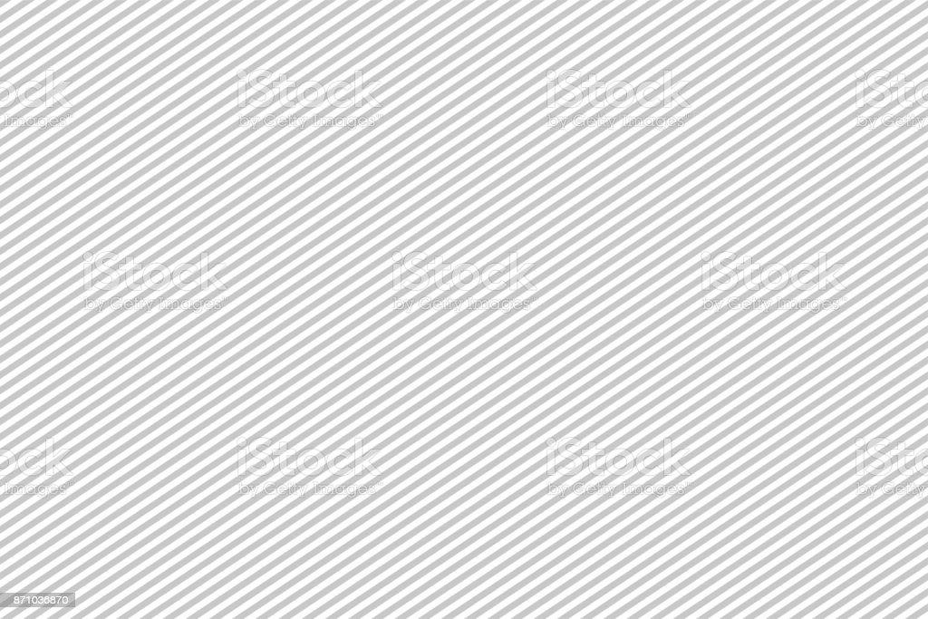 Pattern stripe seamless gray and white colors. Diagonal landscape pattern stripe abstract background vector. - Grafika wektorowa royalty-free (Abstrakcja)