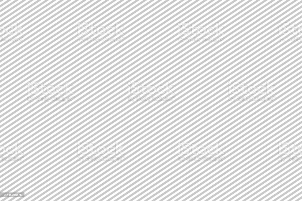 Pattern stripe seamless gray and white colors. Diagonal landscape pattern stripe abstract background vector. - ilustração de arte vetorial