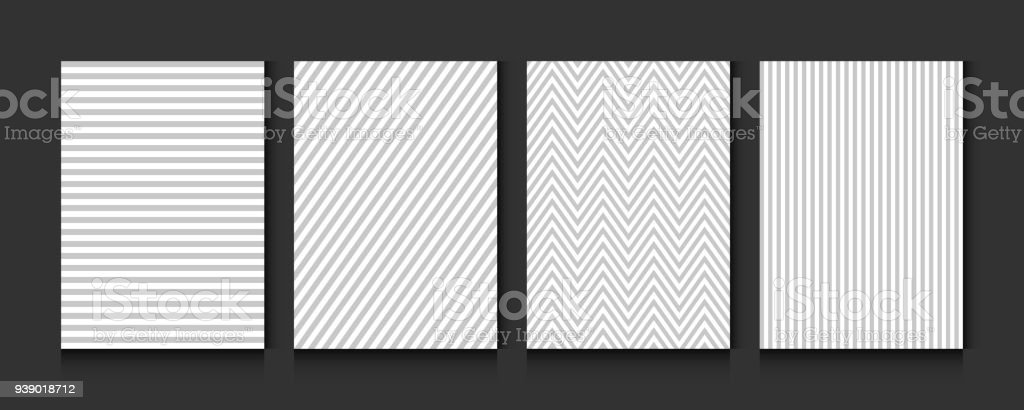 Pattern Stripe Seamless Gray And White Colors Vertical Diagonal ...