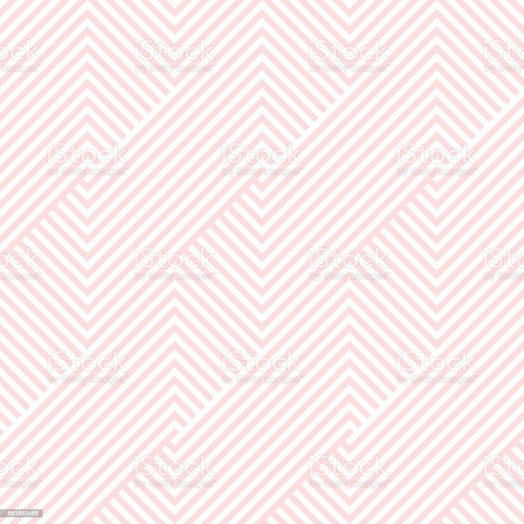 圖案條紋無縫粉紅和白色的顏色情人節背景。V 形圖案條紋抽象背景向量。 - 免版稅具有特定質地圖庫向量圖形