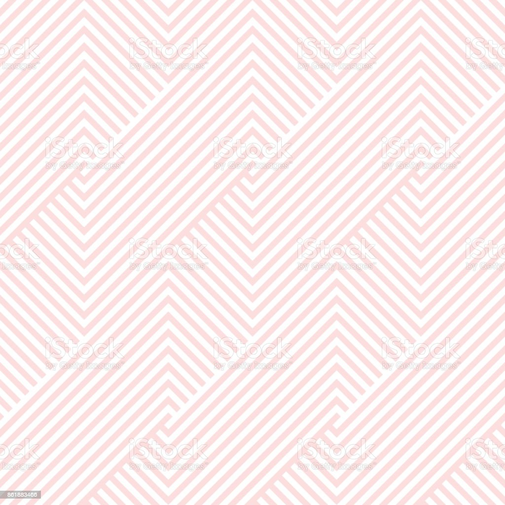 Pattern stripe seamless pink and white colors valentine background. Chevron pattern stripe abstract background vector. vector art illustration