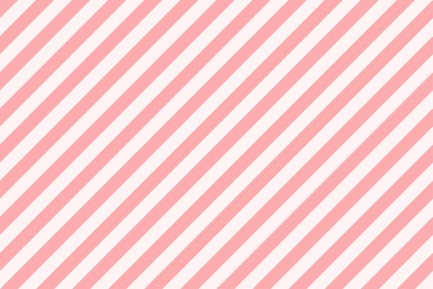 Pattern stripe seamless pink. Diagonal striped candy background vector. Pattern stripe seamless pink. Diagonal striped candy background vector. candy backgrounds stock illustrations
