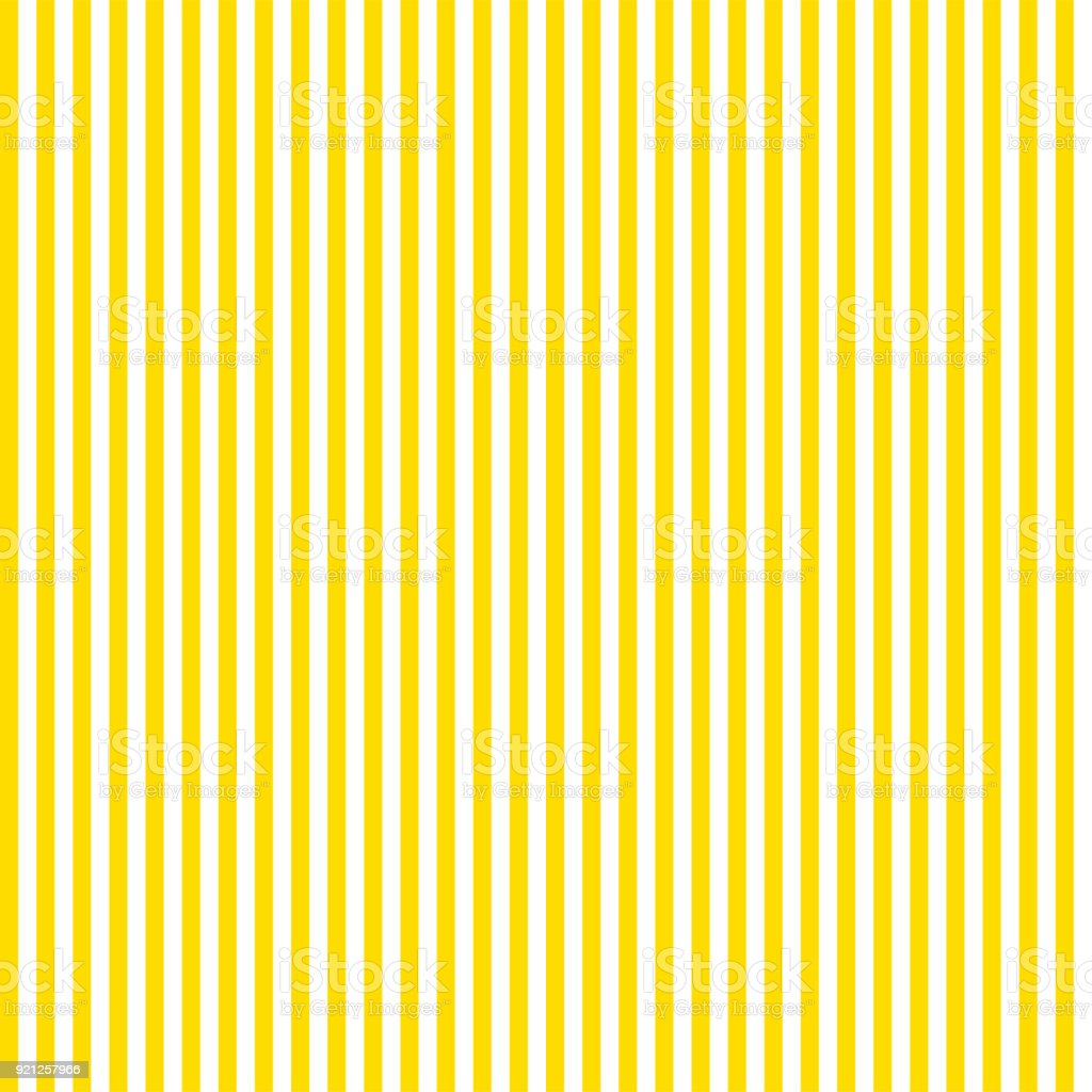 Pattern stripe seamless summer background yellow and white colors. Vertical pattern stripe abstract background vector. vector art illustration