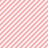 Pattern stripe seamless sweet pink two tone colors. Diagonal stripe abstract background vector.