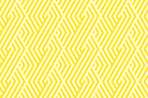 Pattern stripe seamless yellow two tone colors. Chevron stripe abstract background vector. clipart