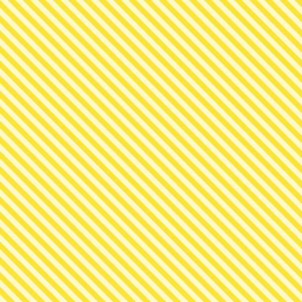 bildbanksillustrationer, clip art samt tecknat material och ikoner med mönster rand sömlös gul två klangfärger. diagonal rand abstrakt bakgrund vektor. - gul bakgrund
