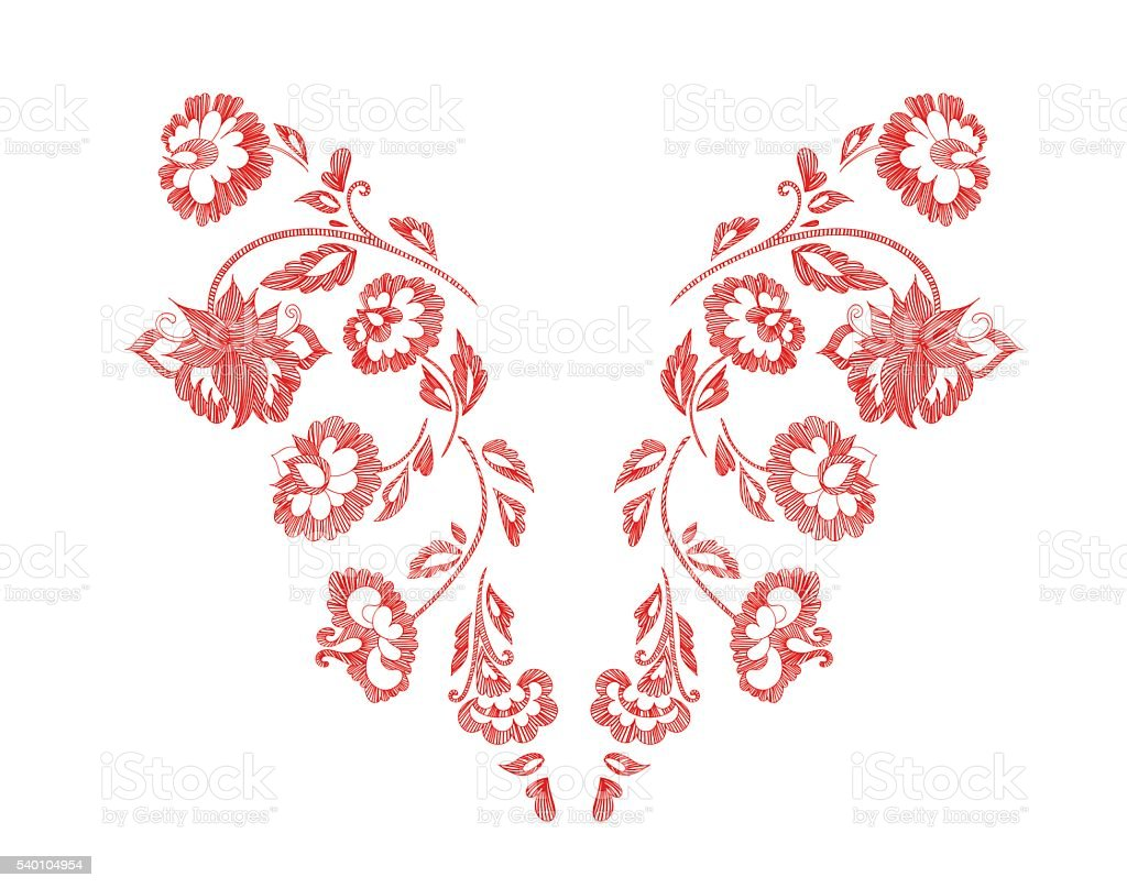 pattern vector art illustration