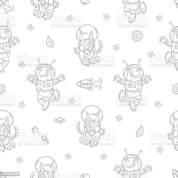 Pattern with astronauts vector id497523598?b=1&k=6&m=497523598&s=612x612&h=tg2gcbpb 1si7tfjemyjbkizjq9htubloknijgd6vik=