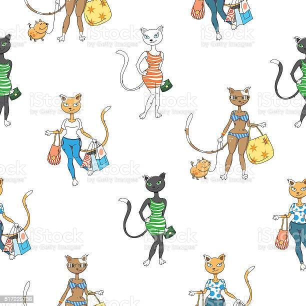 Pattern with cats vector id517229736?b=1&k=6&m=517229736&s=612x612&h=d15mlxjgi4ptn4paaqc7is83frfegf8v7fij6qyucbg=