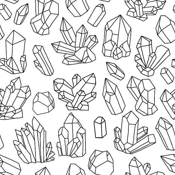 Royalty Free Quartz Crystal Clip Art, Vector Images ...