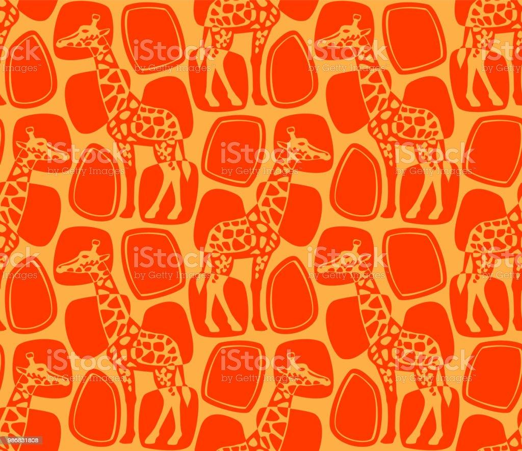 キリン柄です いたずら書きのベクターアート素材や画像を多数ご用意 Istock