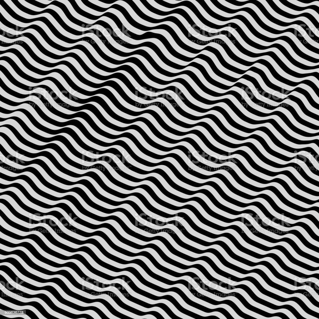 Muster Mit Optische Täuschung Zusammenfassung Hintergrund 3d