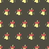 Pattern with school bells