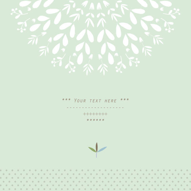 Muster mit vegetative Elemente in Vektor - – Vektorgrafik