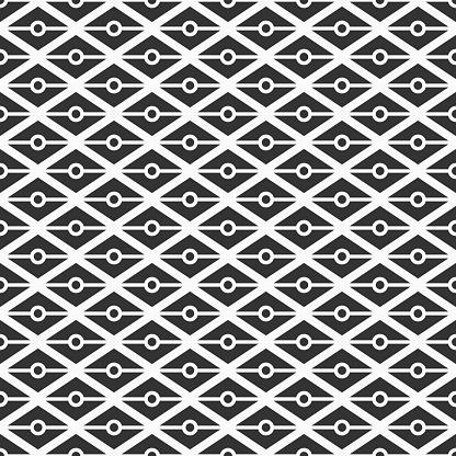 Pattern684trianglesdots Stockvectorkunst en meer beelden van Abstract