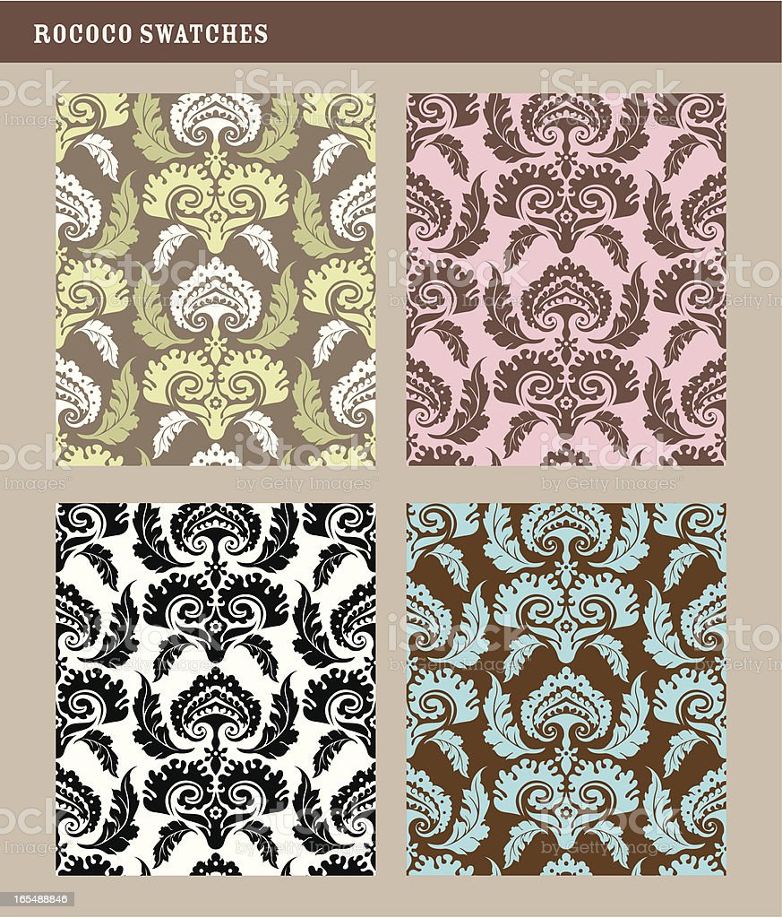 Patterns: elegance royalty-free stock vector art