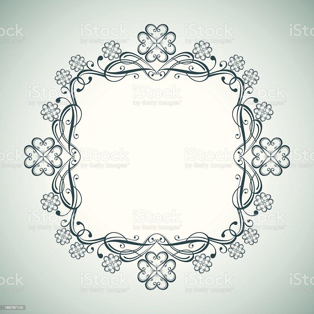 Patty Frame royalty-free stock vector art