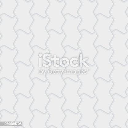 Paver brick floor seamless pattern element.