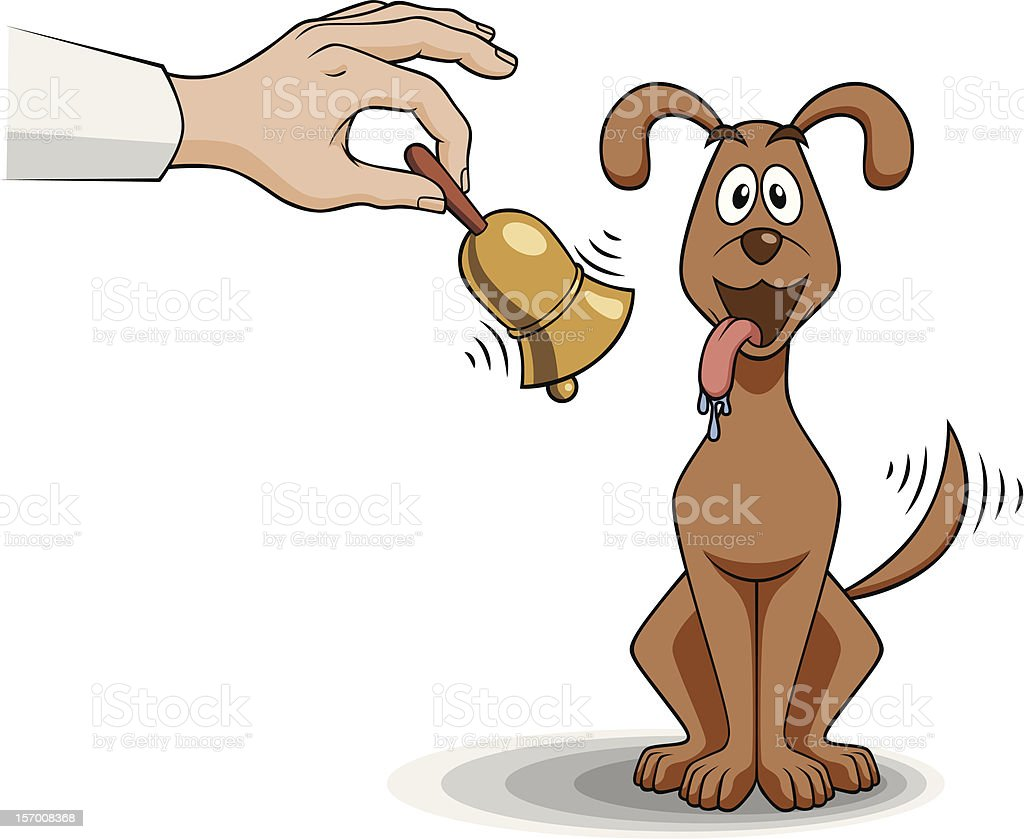 Pavlov's Dog royalty-free pavlovs dog stock vector art & more images of animal saliva