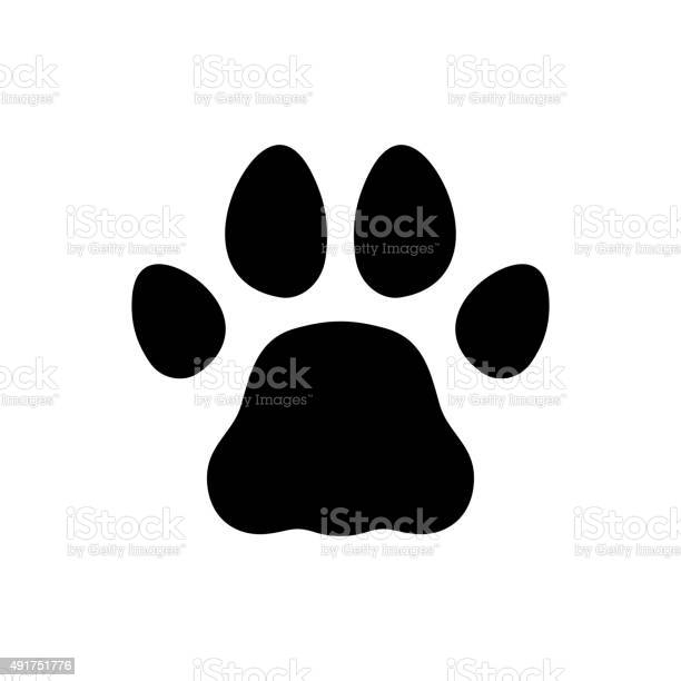 Paw black print icon on white background vector vector id491751776?b=1&k=6&m=491751776&s=612x612&h=do7ltnpdn5qfhsg dkpehm77urtf886nhwjsnw4sn08=