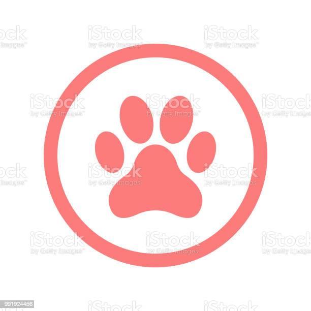 Paw icon pink color vector id991924456?b=1&k=6&m=991924456&s=612x612&h=hfymbupwvrfhsbjyvodvarl7rlekkfplfs vpntcnug=