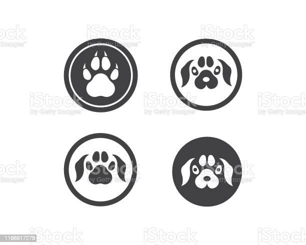 Paw logo icon of pet vector vector id1166617279?b=1&k=6&m=1166617279&s=612x612&h=0hhorgnlhrs0vkpt ztw0ieyxr4ld3fhffiowvsjfiq=
