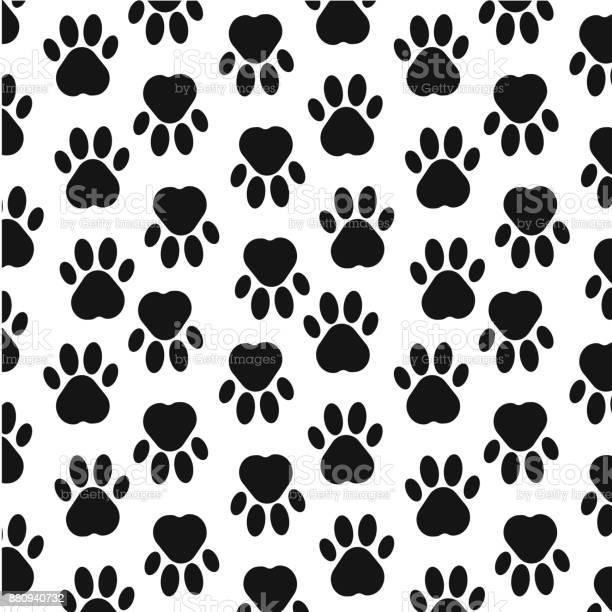 Paw print background footprint seamless background with footprint of vector id880940732?b=1&k=6&m=880940732&s=612x612&h=f4bj8tqehcfprxx0lruxxrytdjfjnrizfbepuuttkiy=