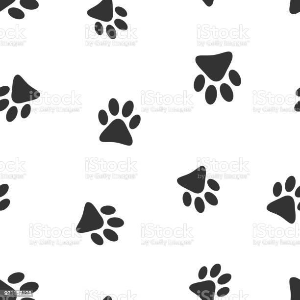 Paw print icon seamless pattern background business flat vector dog vector id921157128?b=1&k=6&m=921157128&s=612x612&h=iz9oi krwhkna6zyp4qq3qkzlrwogvkhx66j0wuw4tc=
