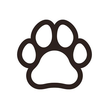 Paw print icon