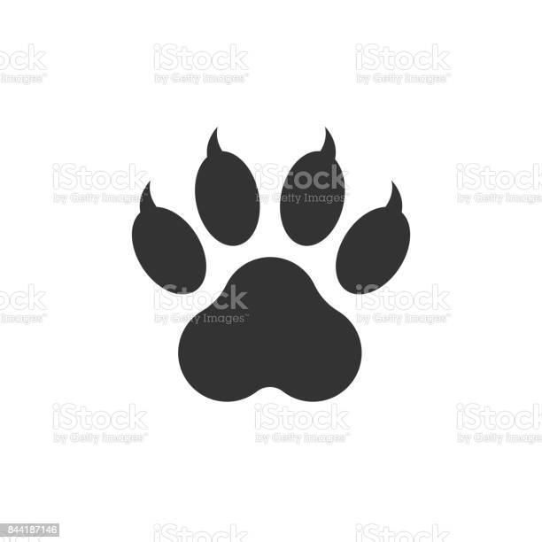 Paw print icon vector illustration isolated on white background dog vector id844187146?b=1&k=6&m=844187146&s=612x612&h=pzblrwlryfudiro8qvwgklq40 7l73jdkelewjbkdq4=