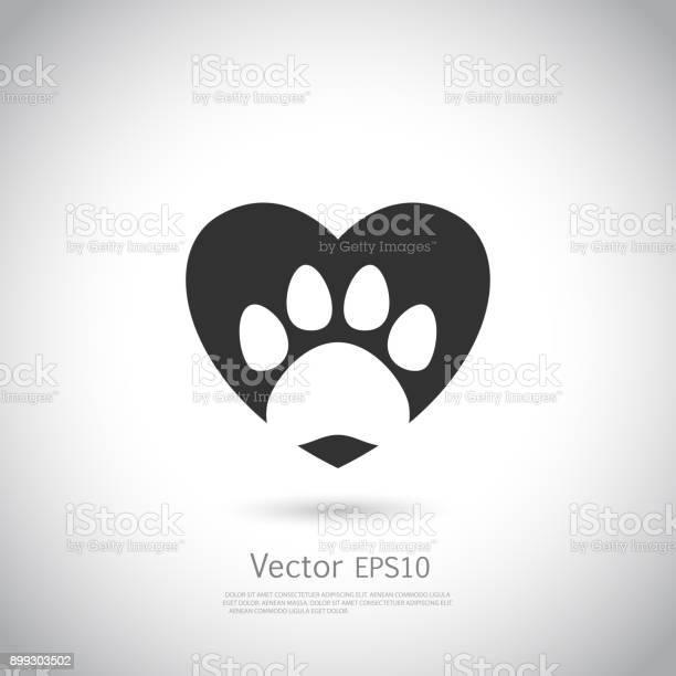 Paw print inside heart icon vector id899303502?b=1&k=6&m=899303502&s=612x612&h=by7evufmezqcd0g5szjjacdkbr xahd3qcneevlfm 4=