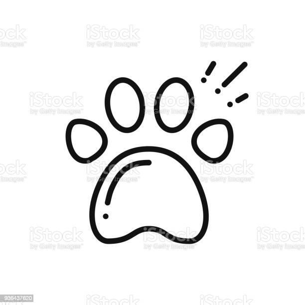 Paw print line icon animal footprint sign and symbol track trail vector id936437620?b=1&k=6&m=936437620&s=612x612&h=bgla8sng 3robk20i evfunkp6j9h6xfbp6dnfgotsu=