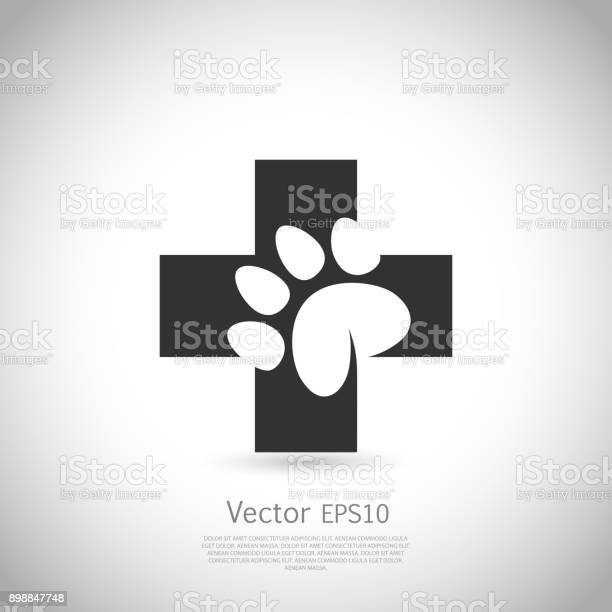 Paw print pet health care icon vector id898847748?b=1&k=6&m=898847748&s=612x612&h=ep1uoqdwwb70uevdq0 qr0nahdykusv49vyvwmepagm=