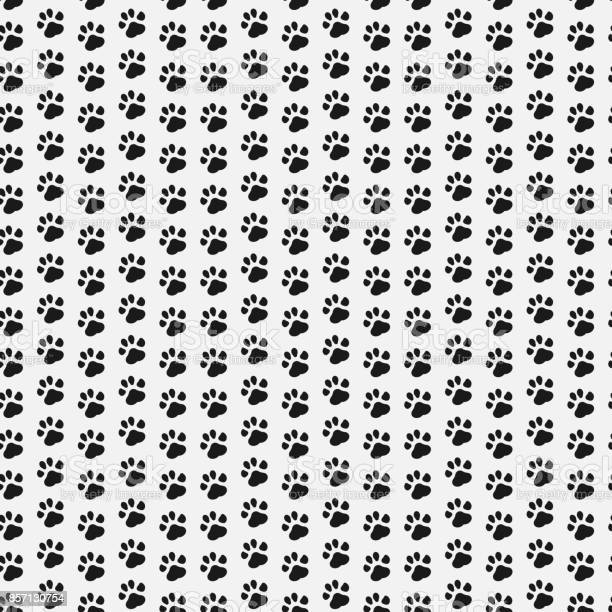 Paw print seamless dog and cat footprint seamless pattern vector vector id857130754?b=1&k=6&m=857130754&s=612x612&h=9a0j8nwy5nxanbwqphowvpagt texwf4fgi3tfho62a=