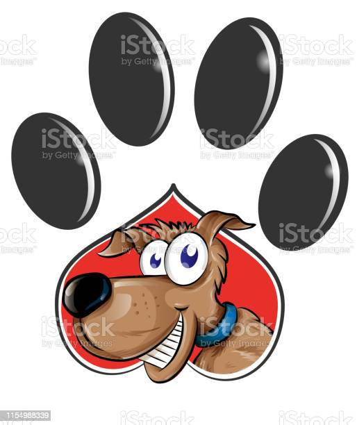 Paw print with dog cartoon isolated on white background clip art vector id1154988339?b=1&k=6&m=1154988339&s=612x612&h=rhczk2jbpquu1kfqho3sdpnppouzdiobnzpkldmkfvm=