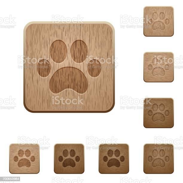Paw prints wooden buttons vector id700653984?b=1&k=6&m=700653984&s=612x612&h=ayil3rtpgttb4h9pgswh71rununrrxtix x7jccorxy=
