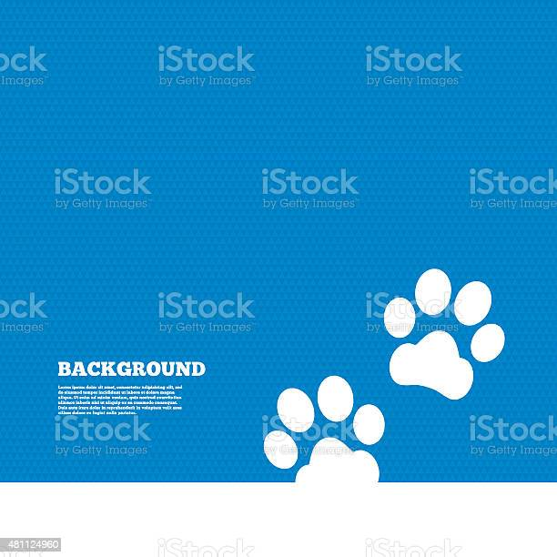 Paw sign icon dog pets steps symbol vector id481124960?b=1&k=6&m=481124960&s=612x612&h=up17u8fcoorztjvyh4ztxm9l9aswkdfpgsbxyjpaomo=