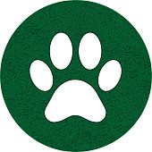 Paw track illustration.PDF file is included.