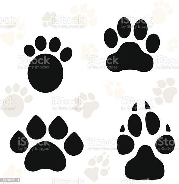 Paws and claws print vector id514826101?b=1&k=6&m=514826101&s=612x612&h=rrv nvvelrzg 1ffoe7eggxuitki1rdfmg4yo8ip n0=