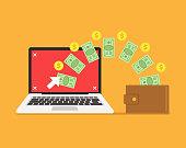 istock Pay per click concept 881197330