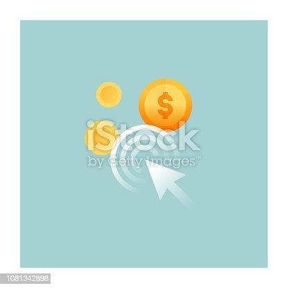 istock Pay Per Click Icon 1081342898